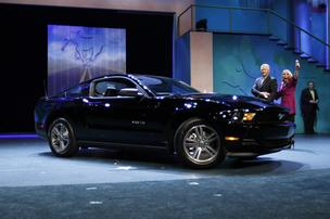 Mary Kay revealed it's added a black Ford Mustang to its car offerings.