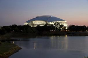 Cowboys Stadium will host the AT&T Cotton Bowl game.