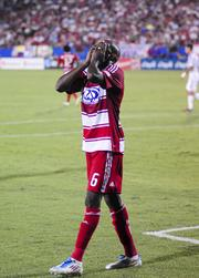 Emotion can take hold on players during a hard-fought FC Dallas game.