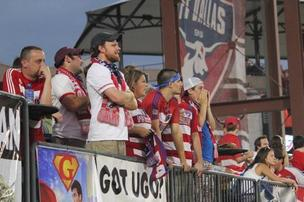 FC Dallas fans cheer at a recent game at Pizza Hut Park in Frisco