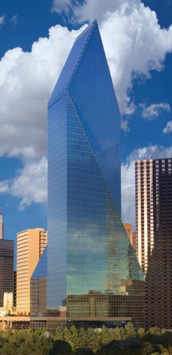 Cassidy Turley picked up the leasing at Fountain Place in Dallas.
