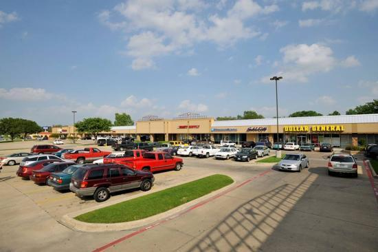 Hulen Square, an 83,402-square-foot retail center in Fort Worth.