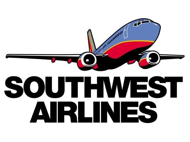The landing gear collapsed Monday evening on a Southwest Airlines flight at LaGuardia Airport in New York.