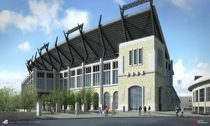 Sodexo and Tim Love will provide catering services at the renovated Amon G. Carter Stadium.