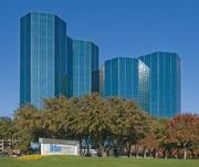 Urban Towers is an office complex in Irving that's competing in the 500,000 to 1 million square feet category at the International TOBY awards.