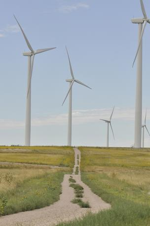 The Cedar Creek Wind Farm in Weld County, Colorado, is owned by Infigen Energy and BP Wind Energy. The wind farm went into operation in November 2007.