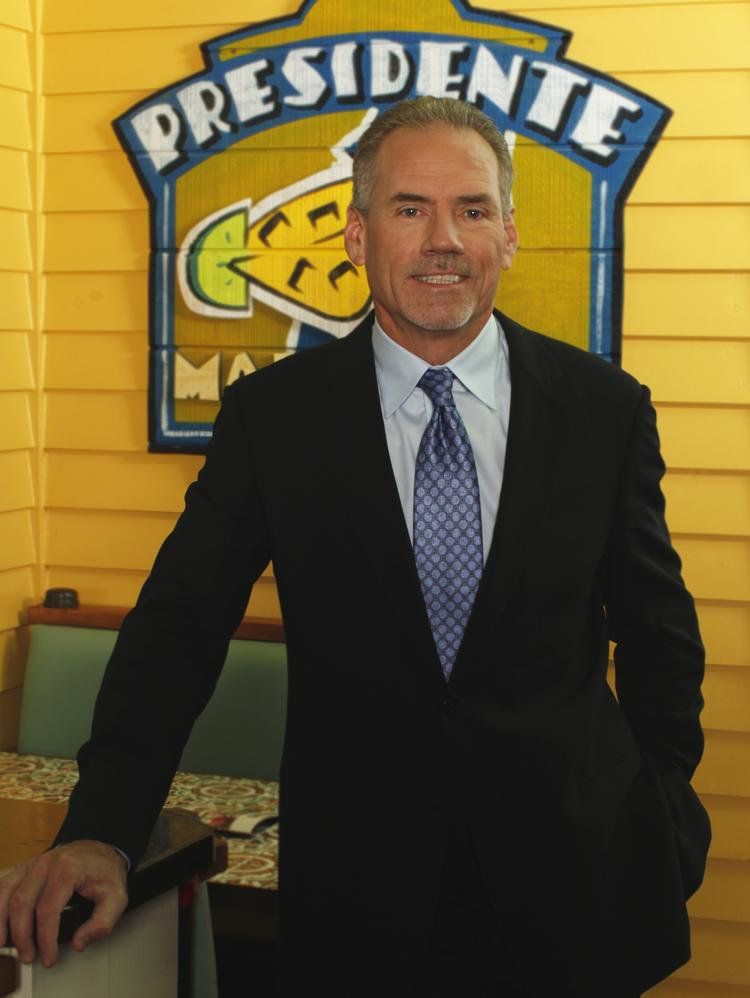 Wyman Roberts, CEO of Brinker.