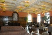 A former courtroom at 400 N. Ervay has become a casual area.
