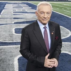 Dallas Cowboys owner Jerry Jones leads the financial race.
