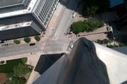 A view off the roof of 211 N. Ervay in downtown Dallas.