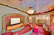 The colorful entertainment room at Champ d'Or in Hickory Creek.