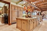 The kitchen in Tom Leppert's Dallas home.