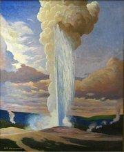 Old Faithful, by Gustav Krollman, (1888-1962)