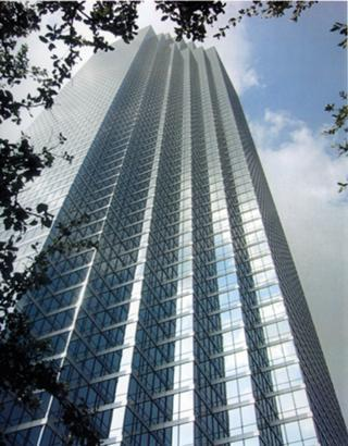 Bank of America Plaza in Dallas has 1,865,168 gross leaseable square feet of space.