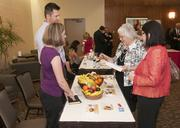 Orchard at the Office draws a crowd at the DBJ's Healthiest Employers Health Fair.