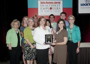 Baylor Healthcare System won in the large business category.