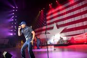 Country singer Rodney Atkins performs Sunday at the GOP welcome party at Tropicana Field in St. Petersburg, Fla.