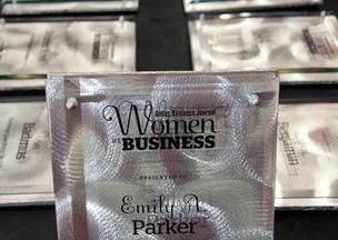 Winners of the Dallas Business Journal Women in Business awards were honored at a luncheon on Thursday.