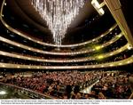 Winspear chandelier named after Moody Foundation