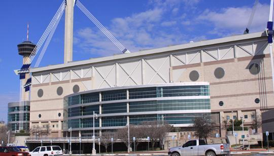 The Alamodome is investing $800,000 to improve the home locker room at the stadium.