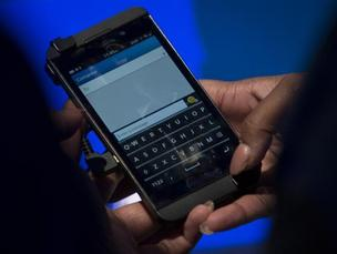 The BlackBerry 10 was unveiled on Wednesday.