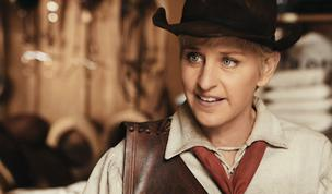 Ellen DeGeneres shown in a J.C. Penney commercial.