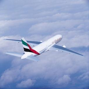 The D/FW to Dubai route is flown using a 777-200LR aircraft from Boeing.
