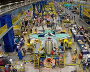 The F-35 is made at Lockheed's assembly plant in Fort Worth.