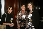 Diana Beedle, Kathy Czorniak and Nicole Kennedy at the DBJ's After Hours event.