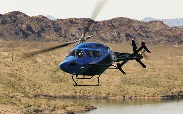 The Bell 429 is the company's newest-generation commercial helicopter.