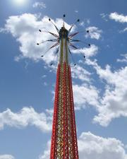 The Texas SkyScreamer will rise 400 feet above the ground.