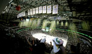 The Dallas Stars were able to fill the American Airlines Center back in their heyday. This file photo dates back to 2009.