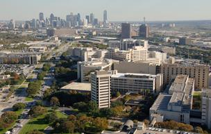 UT Southwestern Medical School campus in Dallas