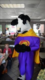 Friday was Cow Appreciate Day at Chick-fil-A