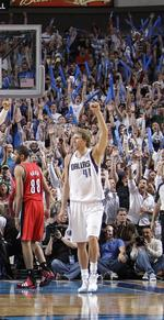 Mavs' Nowitzki earns 'most marketable' title in poll