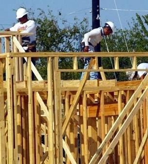 U.S. home builders have ended a strong three month stretch.
