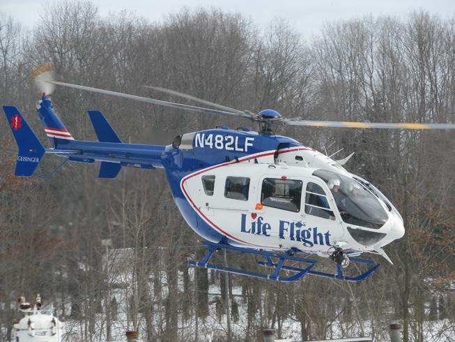 Geisinger Health System is buying a fifth EC-145 from Grand Prairie-based American Eurocopter for its Life Flight program.