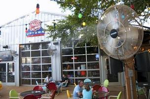 The Katy Trail Ice House in the Uptown area of Dallas.