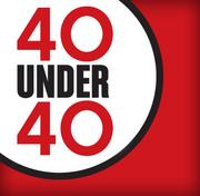 40 Under Forty honors businesspeople under the age of 40.