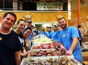 Montgomery Coscia Greilich LLP recently had 82 employees spend the day at North Texas Food Bank and the group loaded 11 pallets with 330 boxes (that's 6,479 pounds) of food. That equals 5,399 meals, the group said.