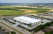 Aerial view of Stream's newest data center in Richardson