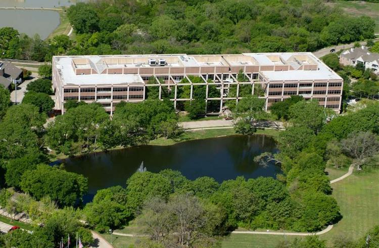 12404 Park Central is a four-story, 239,000-square-foot office building in Dallas.