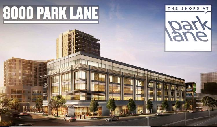 A rendering of 8000 Park Lane