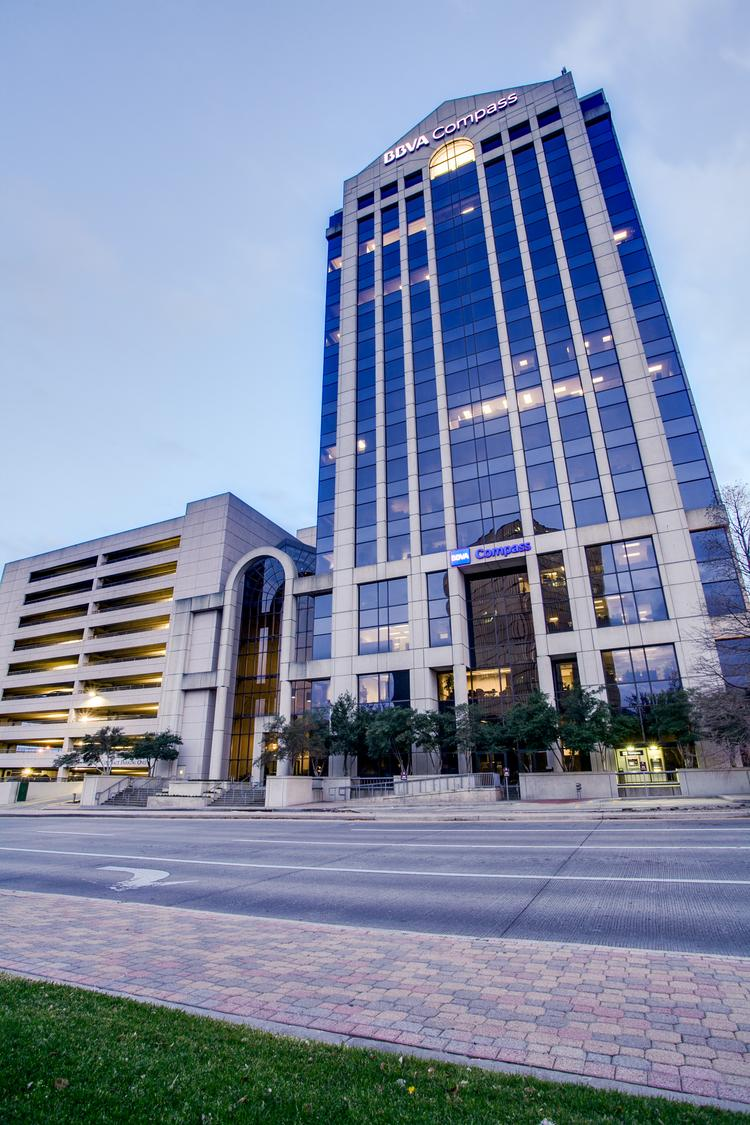 8080 NCX is a 17-story office tower at 8080 N. Central Expressway in Dallas. The building is 95 percent leased.