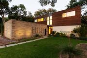 The house at 9562 Ash Creek Drive in Dallas will be featured in the Dallas Modern Home Tour this Saturday.