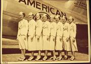 American Airlines flight attendants in 1938.