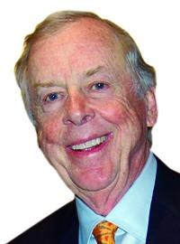 Legendary oilman T. Boone Pickens opines on the second presidential debate, which featured energy policy.