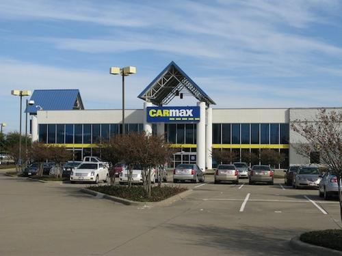Reit Purchases Garland Carmax Auto Dealership Site Dallas Business