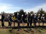 Conifer Health broke ground on its new headquarters build-to-suit office building in Frisco on Tuesday.