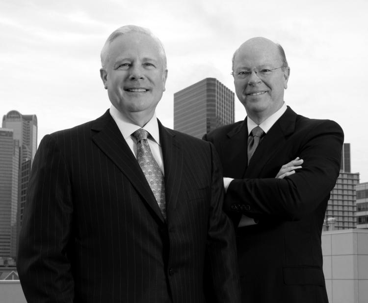 George Jones and Keith Cargill of Texas Capital Bank.